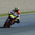 Rossi before traction control technology aplied