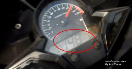 Top speed CBR150R lokal