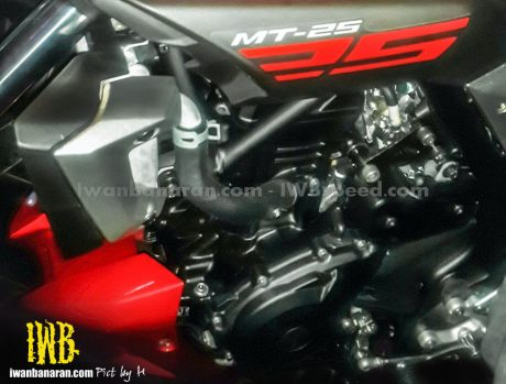 first time. yamaha mt25 sportsbike could launch in indonesia by june