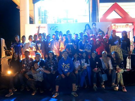 Aktivitas outdoor Charity Campaign Online Y2C (Yamaha Youth Community) (2)