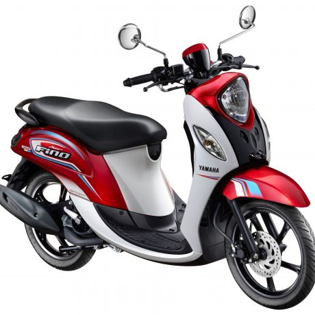 New Fino 125 Blue Core Sporty Actif Rouge (Merah)
