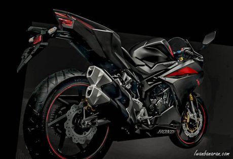 Honda all new CBR250RR