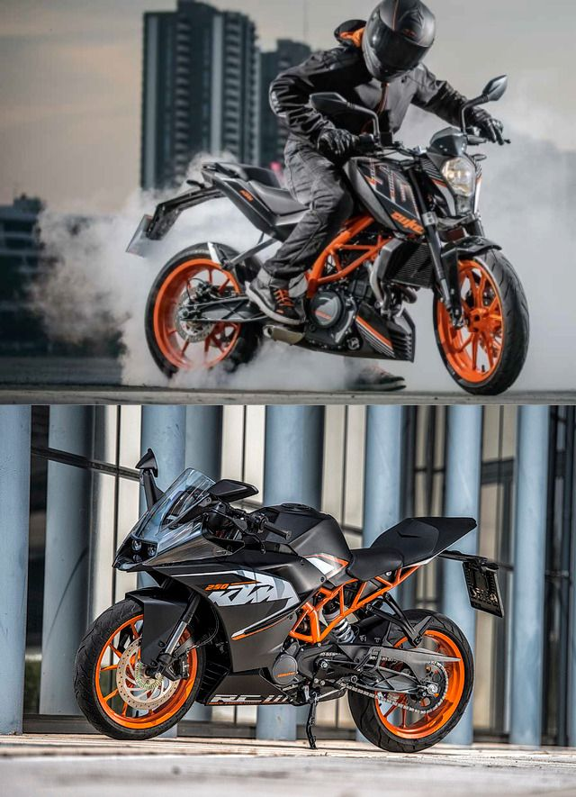 2018 ktm rc 250. wonderful ktm ktm duke 250 rc inside 2018