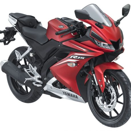 All New R15 Matte Red