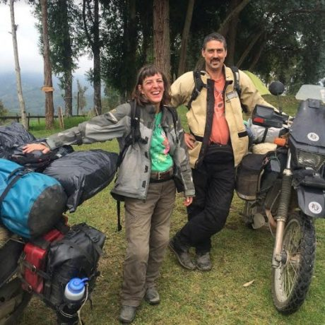 mike & Shannon DR650 (2)