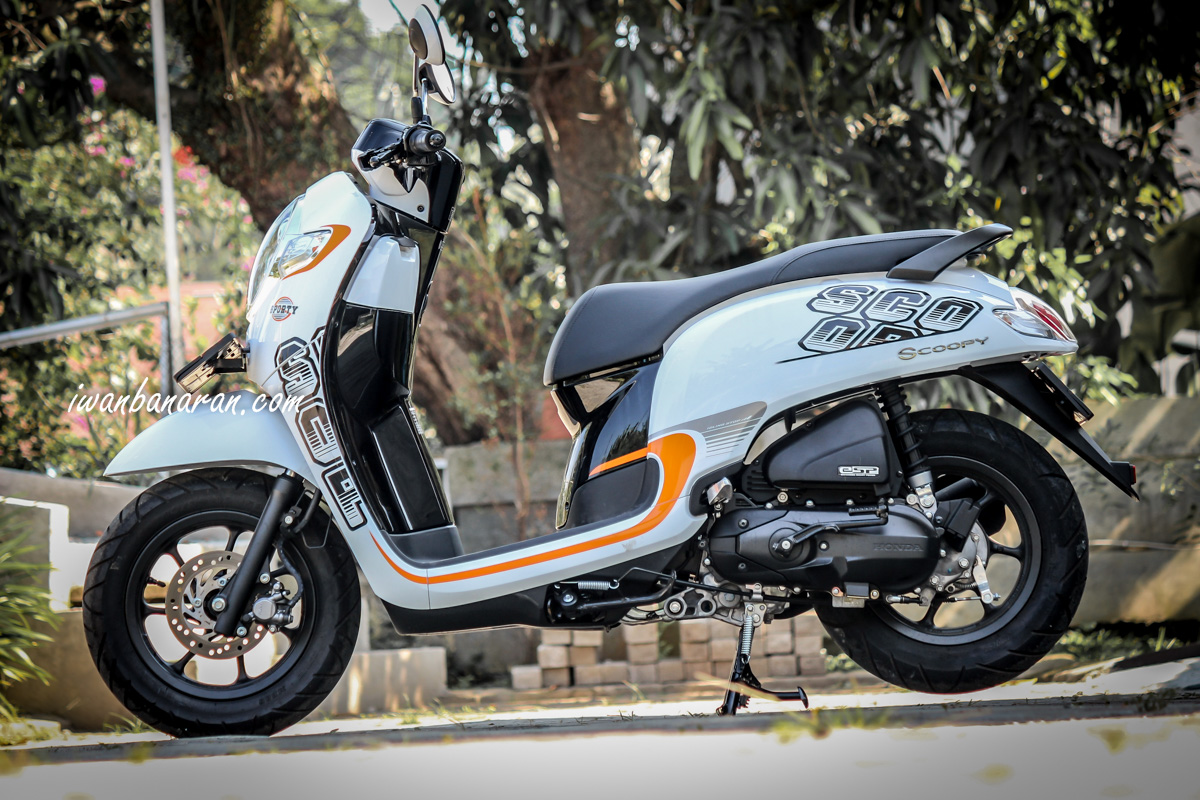 Modifikasi Motor Scoopy Fi 2018 Modifikasi Motor