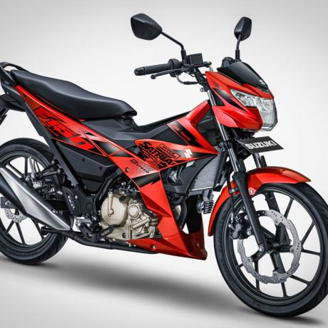 All New Satria F150 – 2017 – Stronger Red-2