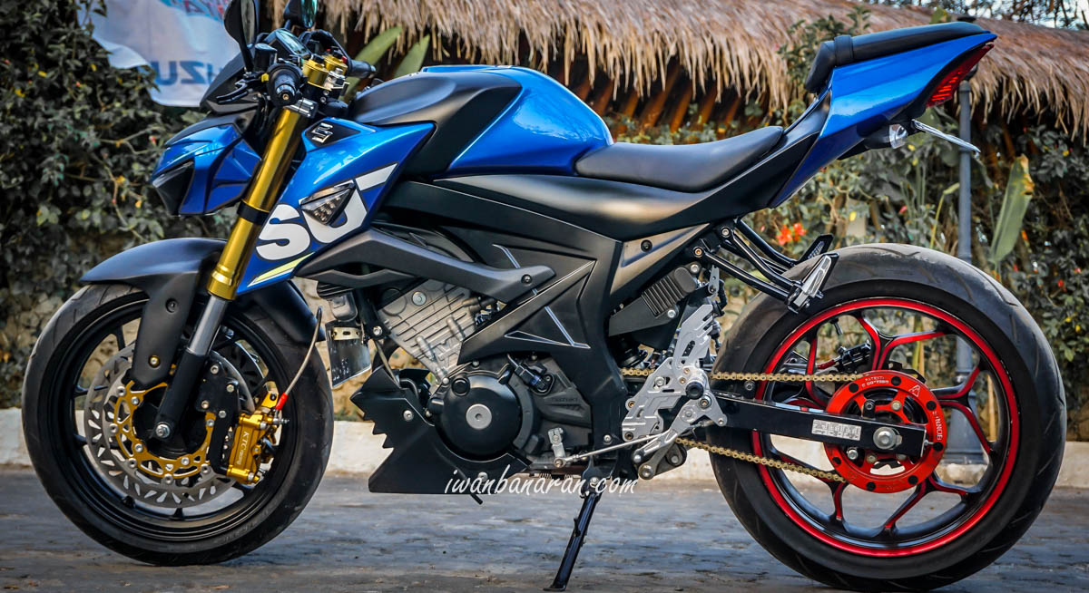 Modifikasi Street Fighter Suzuki GSX150 Sangarr Edian