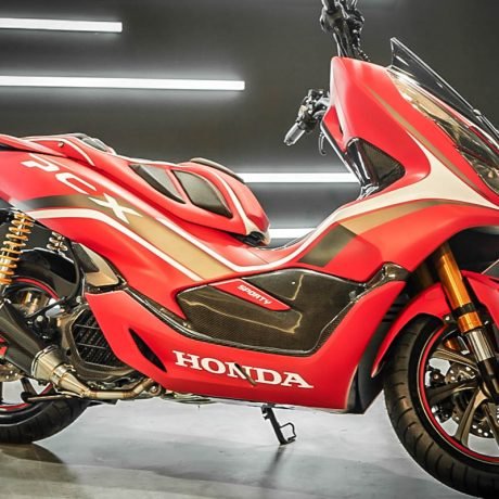 PCX Red Sporty – Motor