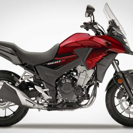2018 CB500X Candy Cromosphere Red