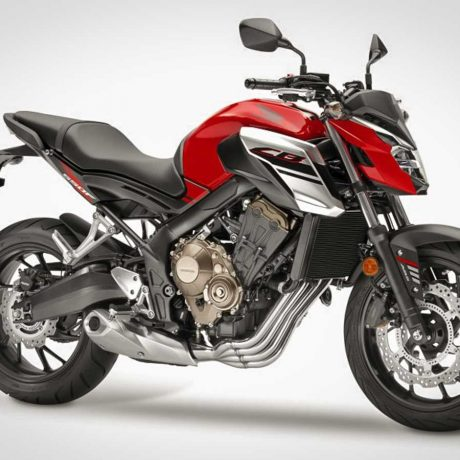 2018 CB650F Candy Cromosphere Red