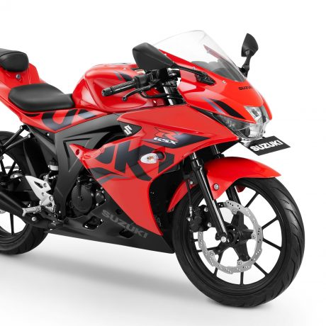 GSX-R150 Keyless Ignition – Stronger Red-Solid Black