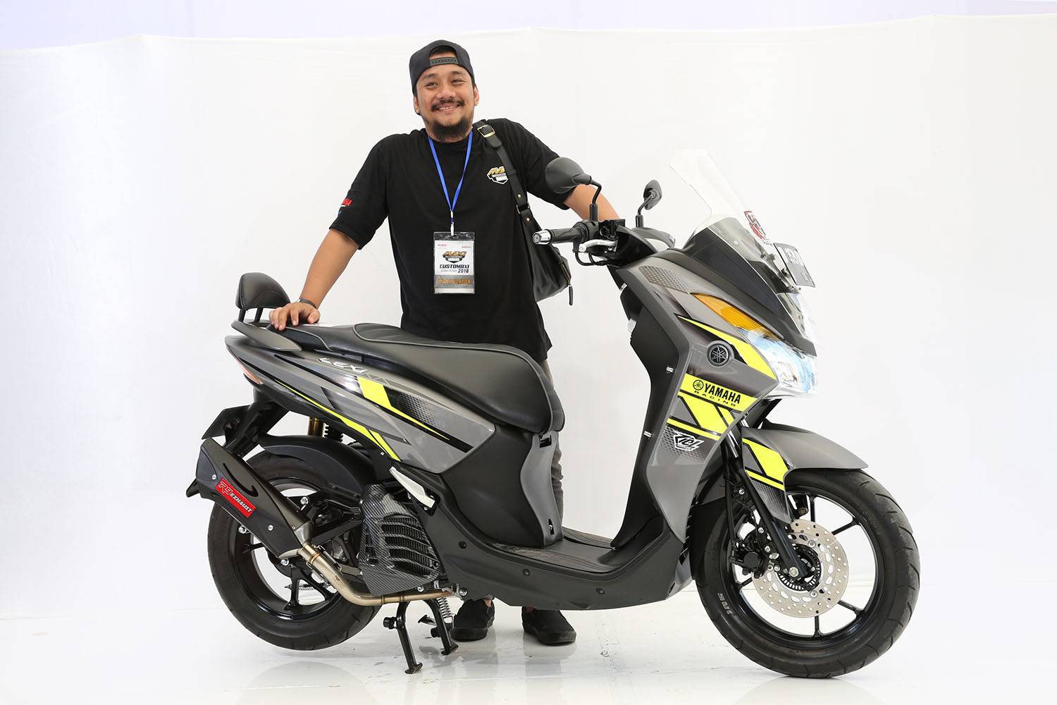 customaxi makassar modifikasi yamaha aerox