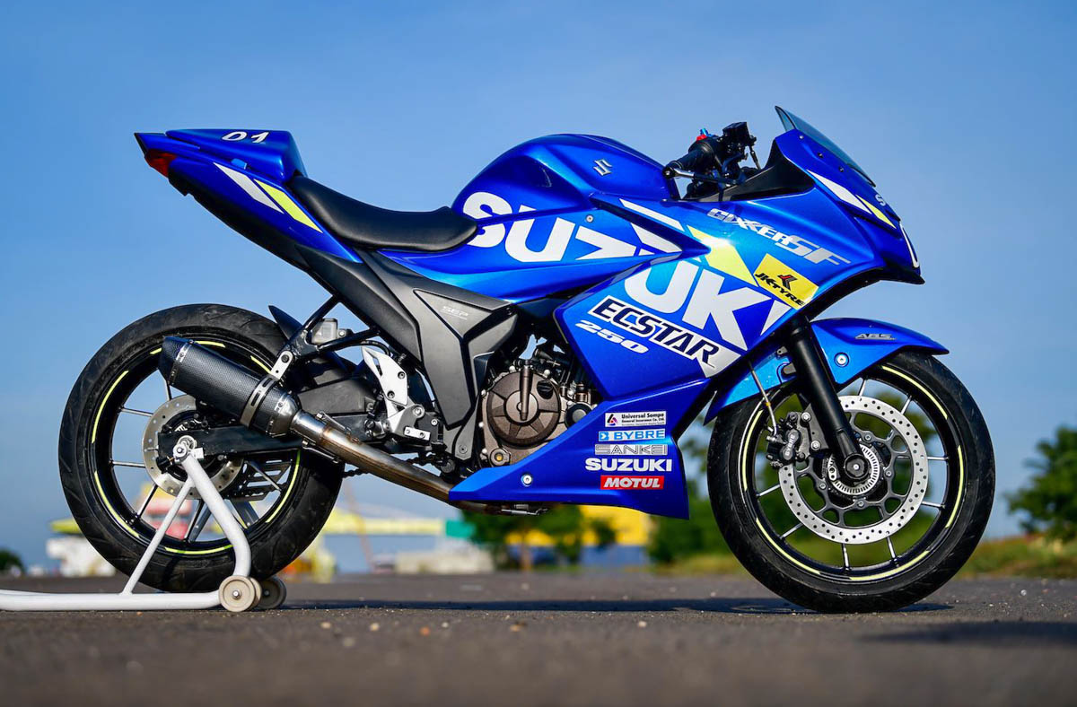 Gixxer Sf Motogp Edition 2019